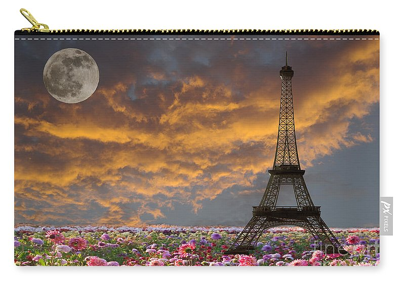Paris Carry-all Pouch featuring the photograph Dreaming Of Paris by Jim And Emily Bush