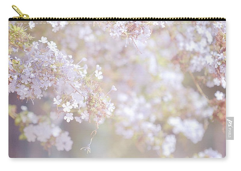 Jenny Rainbow Fine Art Photography Carry-all Pouch featuring the photograph Dreaming Of Spring by Jenny Rainbow