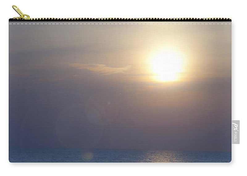 September Carry-all Pouch featuring the photograph Dreamy September Sunrise by Teresa Mucha