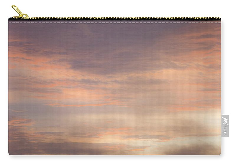 Sunrise Carry-all Pouch featuring the photograph Dreamy Sunrise Over The Atlantic by Teresa Mucha