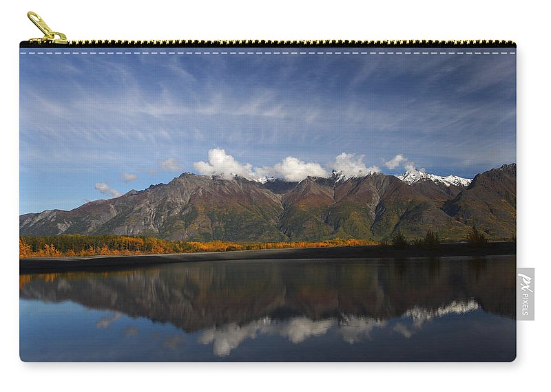 Doug Lloyd Carry-all Pouch featuring the photograph Drifting Clouds by Doug Lloyd