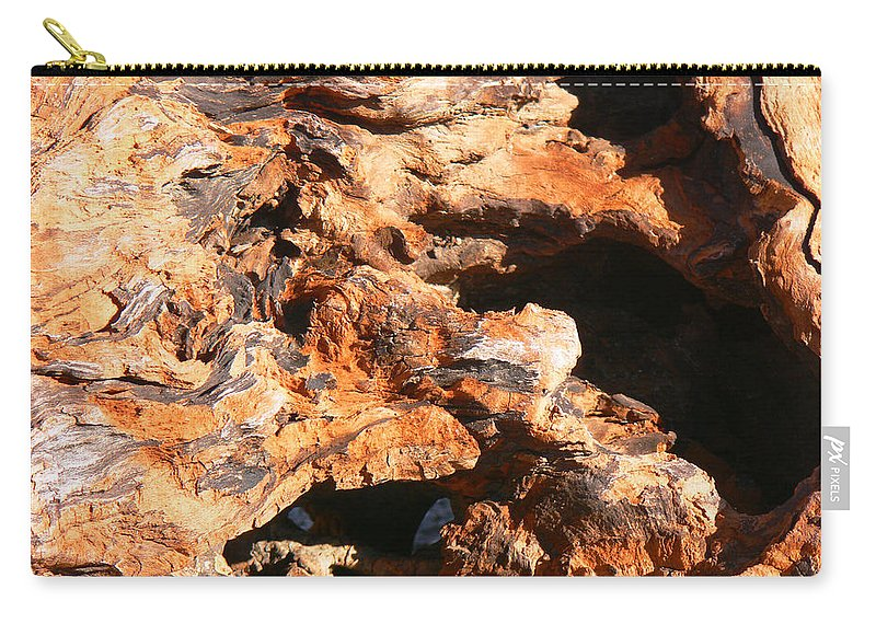 Tn Carry-all Pouch featuring the photograph Driftwood 2 by Ericamaxine Price