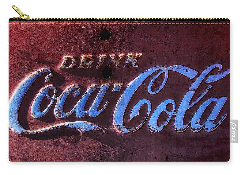 Drink Carry-all Pouch featuring the photograph Drink Coca Cola by Garry Gay