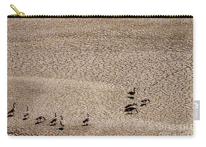 Photograph Carry-all Pouch featuring the photograph Drought by Vicki Pelham