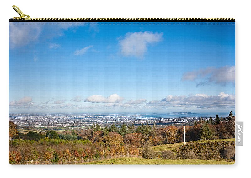 City Carry-all Pouch featuring the photograph Dublin City by Semmick Photo