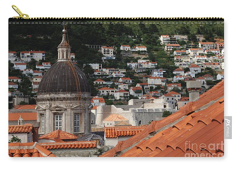 Dubrovnik Carry-all Pouch featuring the photograph Dubrovnik by Bob Christopher
