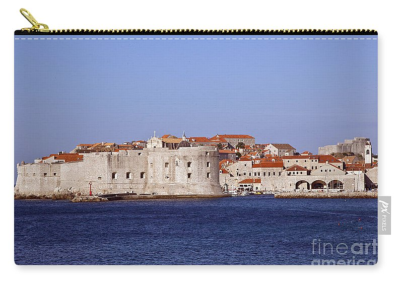 Dubrovnik Carry-all Pouch featuring the photograph Dubrovnik View 5 by Madeline Ellis
