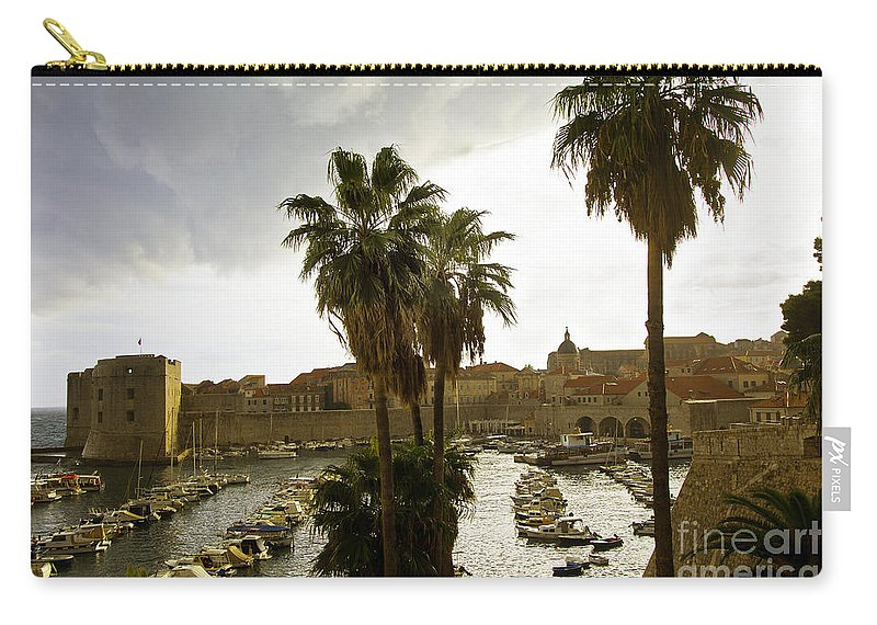 Dubrovnik Carry-all Pouch featuring the photograph Dubrovnik View 6 by Madeline Ellis