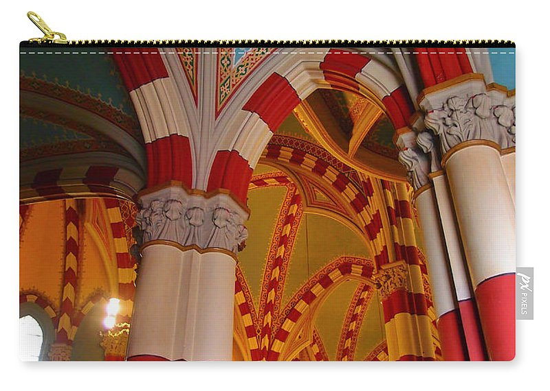 Dulce Iglesia Carry-all Pouch featuring the photograph Dulce Iglesia by Skip Hunt