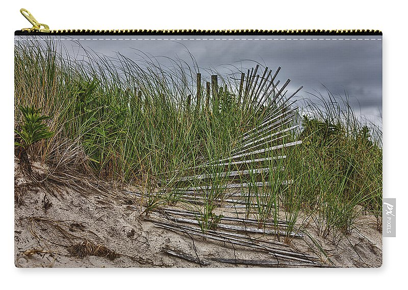 East Hampton Carry-all Pouch featuring the photograph Dunes by Rick Berk