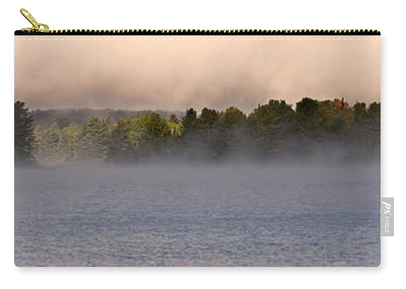 Eagle Lake Carry-all Pouch featuring the photograph Eagle Lake Panorama by Cale Best