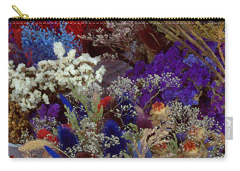 Carry-all Pouch featuring the mixed media Early In The Cycle by Terence Morrissey