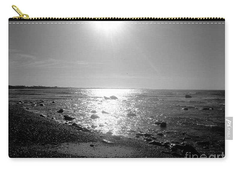 Black Carry-all Pouch featuring the photograph Earth Water And Fire by Kevin Fortier
