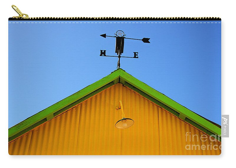Weathervane Carry-all Pouch featuring the photograph East Of The Sun West Of The Moon by Bob Christopher