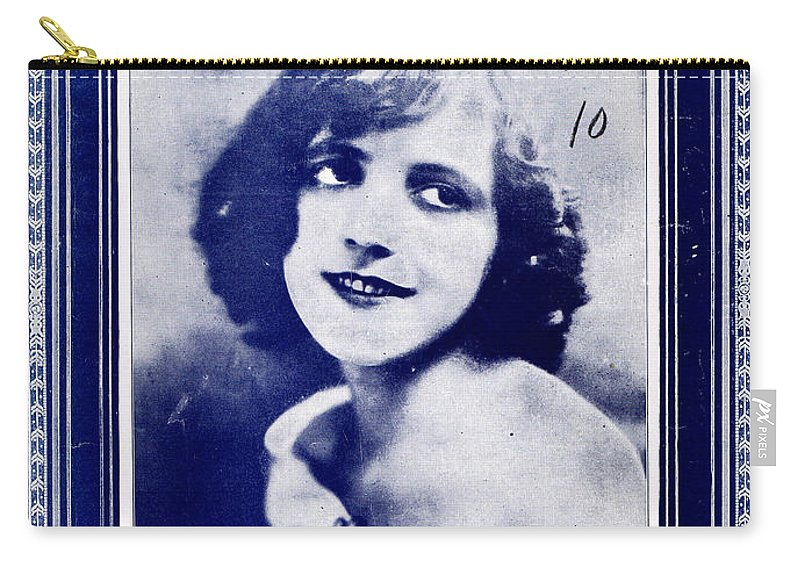 Classic Carry-all Pouch featuring the photograph Edna by Mel Thompson