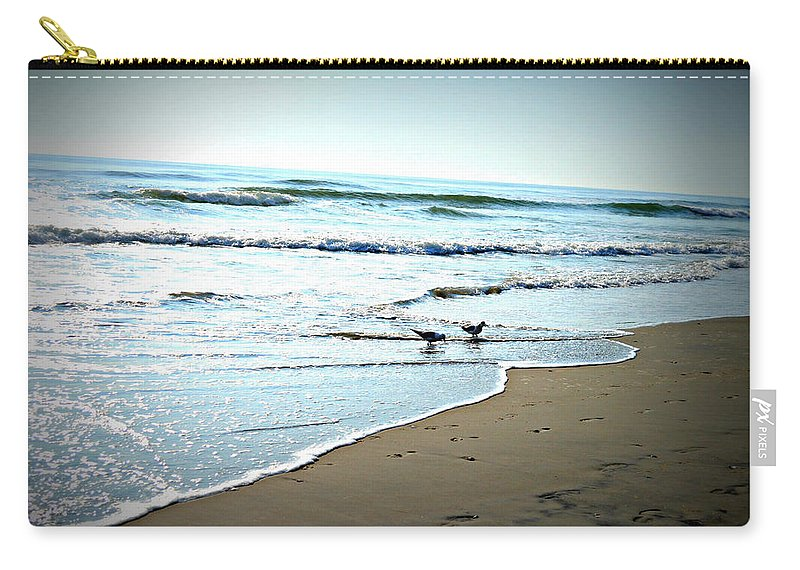 Nature Carry-all Pouch featuring the photograph Egrets I Have A Few by Paulette B Wright