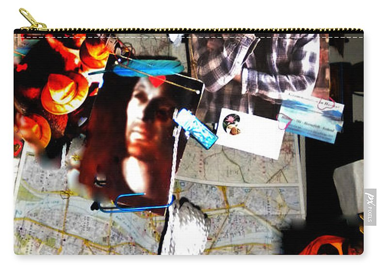 Colette Carry-all Pouch featuring the photograph Egypt 2012 Road Travels Preparations by Colette V Hera Guggenheim