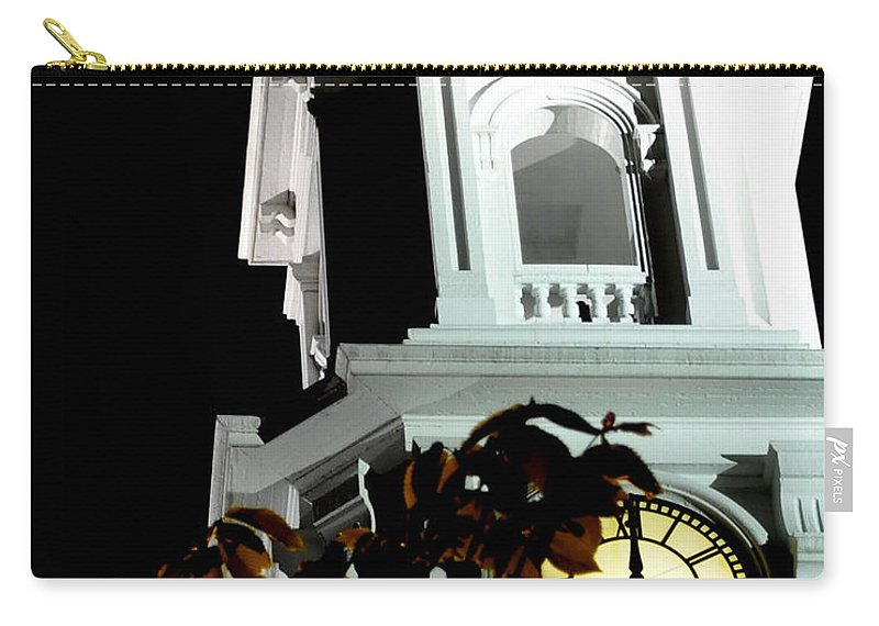 Church Carry-all Pouch featuring the photograph Eight O'clock Eop by Jim Brage