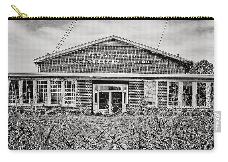 Transylvania Carry-all Pouch featuring the photograph Elementary School by Scott Pellegrin