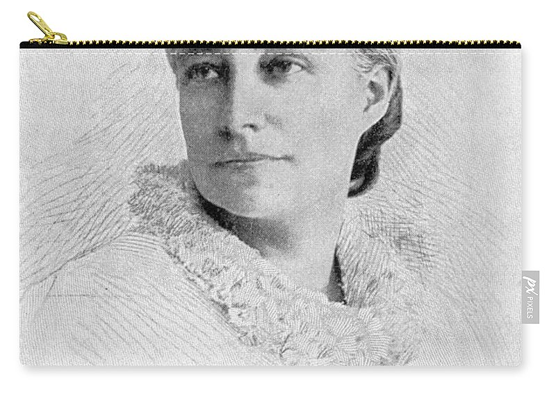1896 Carry-all Pouch featuring the photograph Elizabeth Stuart P. Ward by Granger