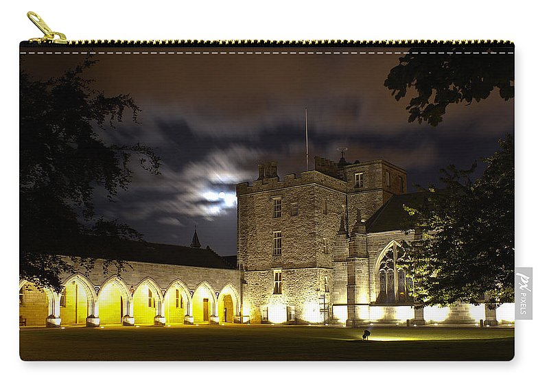 Elphinstone Carry-all Pouch featuring the photograph Elphinstone And Cromwell by Howard Kennedy