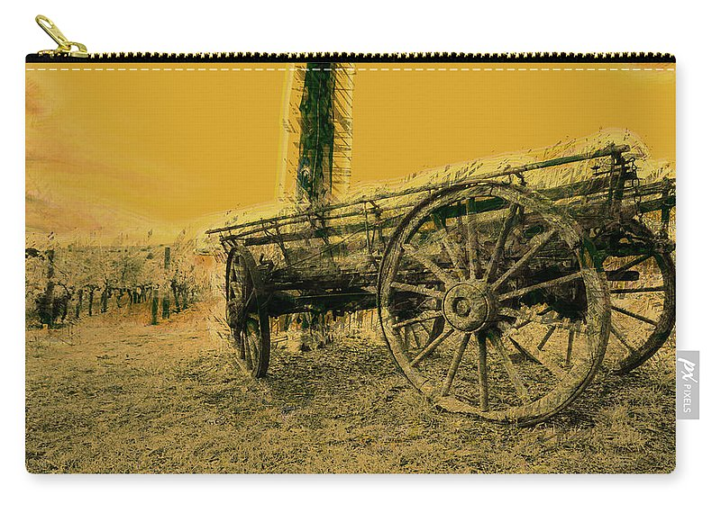 Horse Carry-all Pouch featuring the photograph Empty Dreams by Douglas Barnard