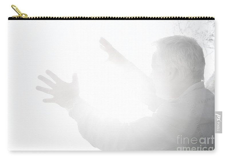 Man Carry-all Pouch featuring the photograph Energy by Mats Silvan