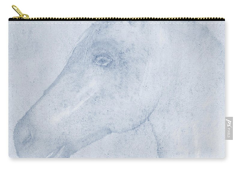 Equus Carry-all Pouch featuring the digital art Equus by John Edwards