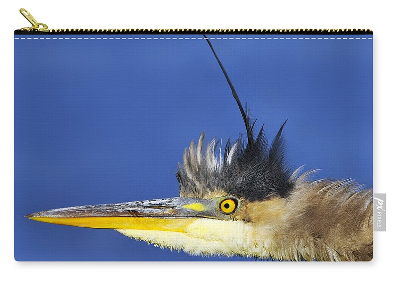 Ontario Carry-all Pouch featuring the photograph Erect by Tony Beck