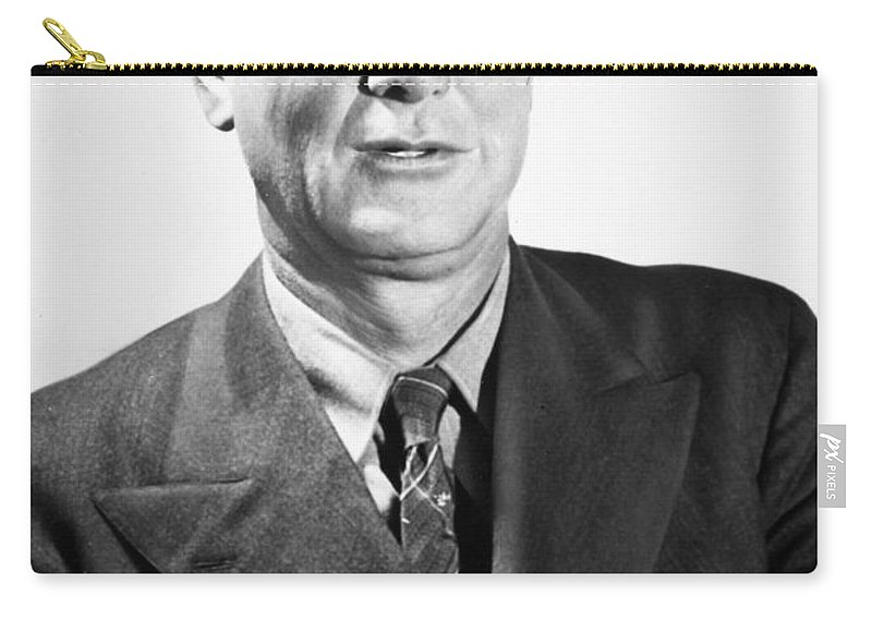 20th Century Carry-all Pouch featuring the photograph Erle Stanley Gardner by Granger