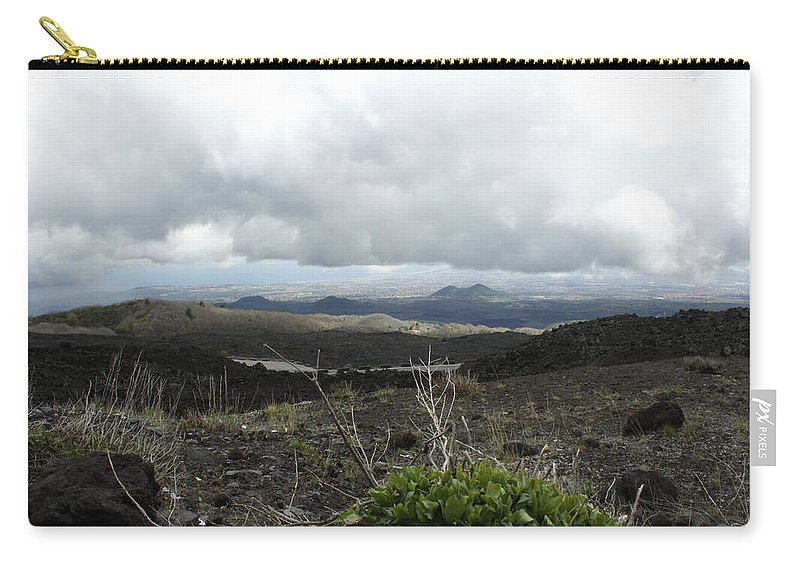 Carry-all Pouch featuring the photograph Etna's Landscape by Donato Iannuzzi