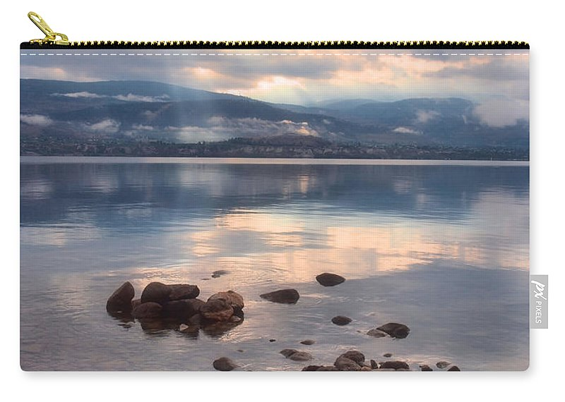 Light Carry-all Pouch featuring the photograph Even Rainy Mondays Can Be Beautiful by Tara Turner