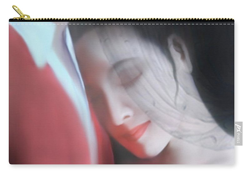 Man Carry-all Pouch featuring the painting Everything Is Gonna Be Alright by Kume Bryant