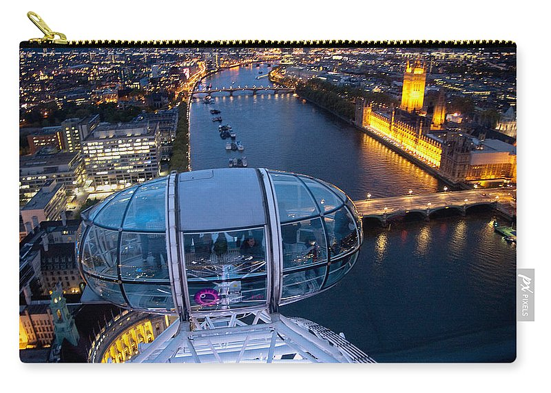 England Carry-all Pouch featuring the photograph Eye Of London by Jon Berghoff