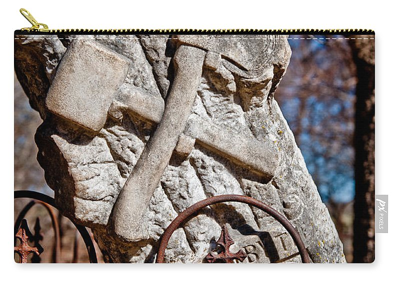Forgotten Carry-all Pouch featuring the photograph F O R G O T T E N by George Buxbaum
