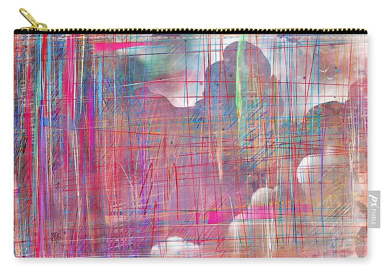 Dreams Carry-all Pouch featuring the digital art Fabric Of A Dream by Rachel Christine Nowicki