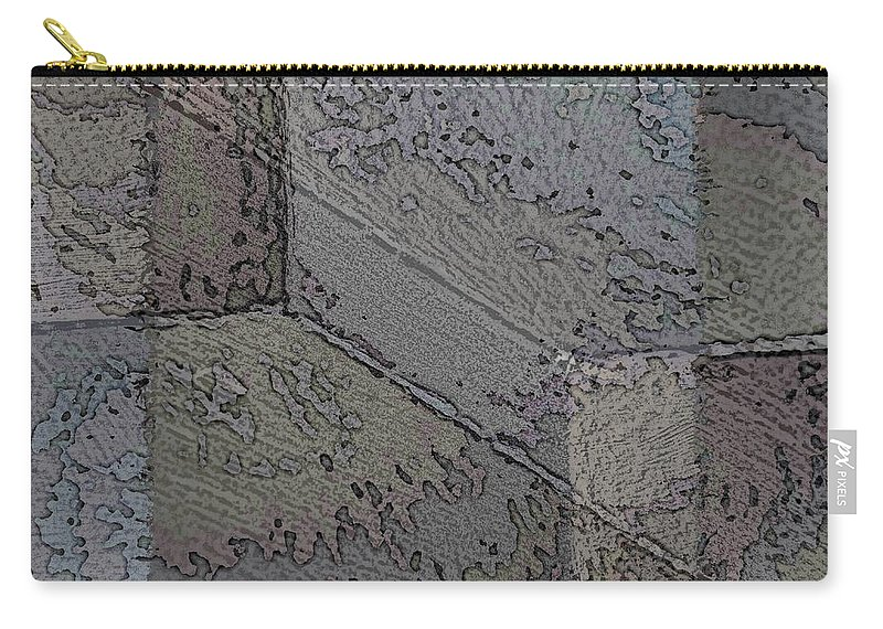 Abstract Carry-all Pouch featuring the digital art Facade 7 by Tim Allen