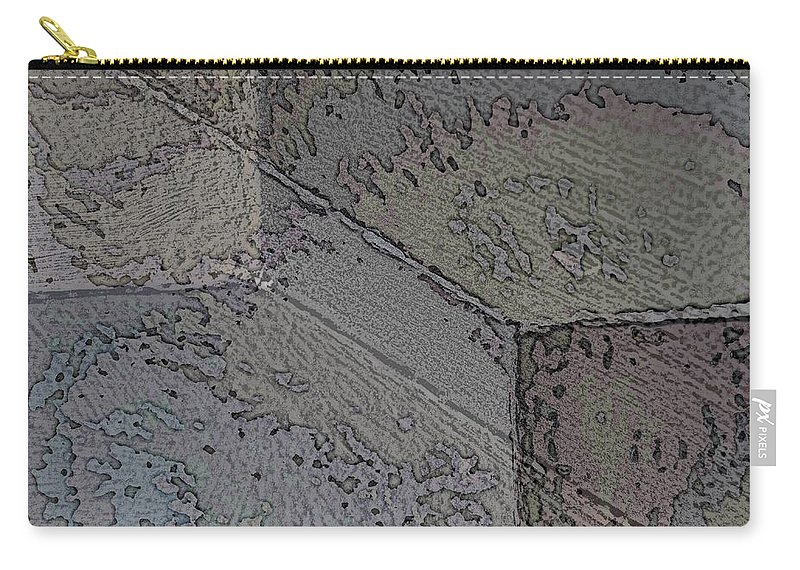Abstract Carry-all Pouch featuring the digital art Facade 8 by Tim Allen