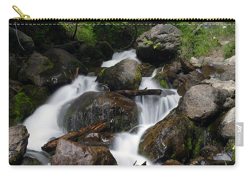 Doug Lloyd Carry-all Pouch featuring the photograph Facinating Falls by Doug Lloyd