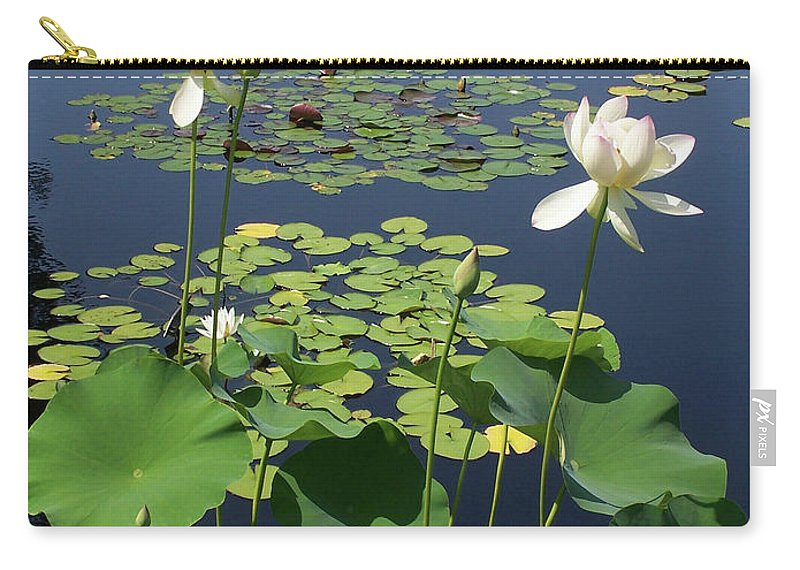 Long Stem Carry-all Pouch featuring the photograph Fading Glory by S Paul Sahm