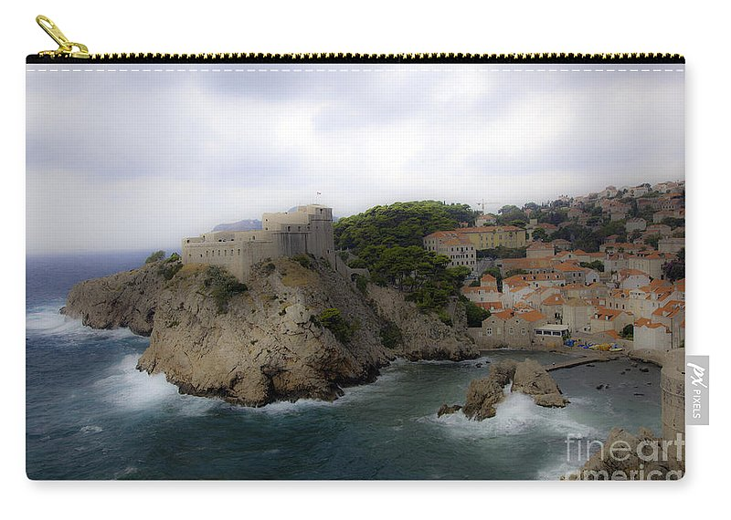 Dubrovnik Carry-all Pouch featuring the photograph Fairytale Look by Madeline Ellis
