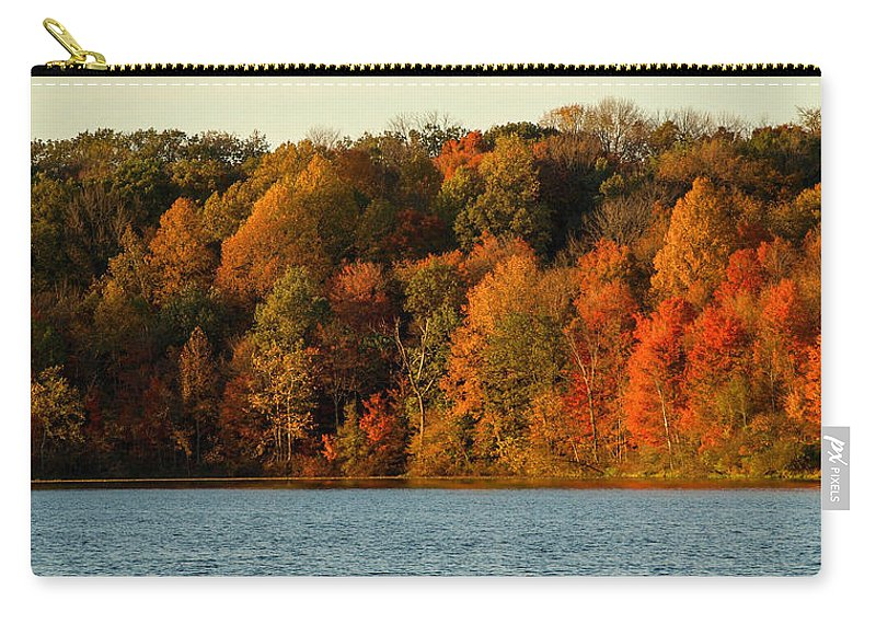 Fall Carry-all Pouch featuring the photograph Fall Abounds by Cathy Smith