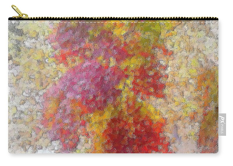 Fall Carry-all Pouch featuring the photograph Fall Leaves by Mark Gilman