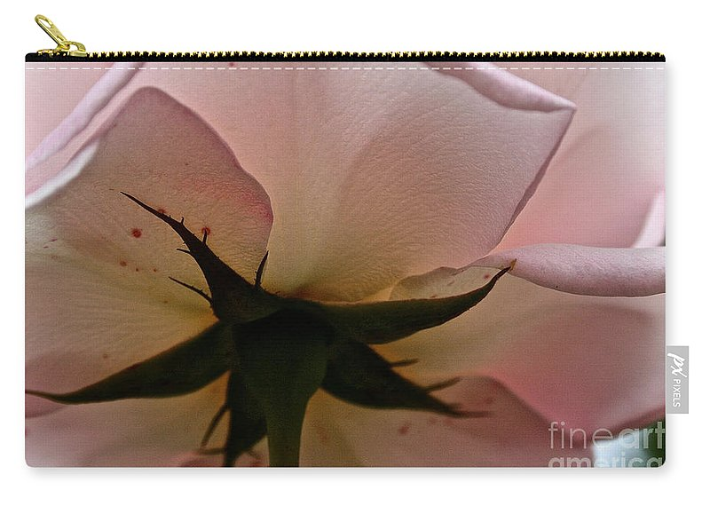 Floral Carry-all Pouch featuring the photograph Falling Back In Love by Susan Herber