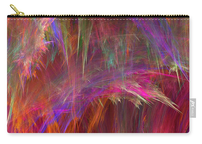 Rain Carry-all Pouch featuring the digital art Fallout-2 by RochVanh