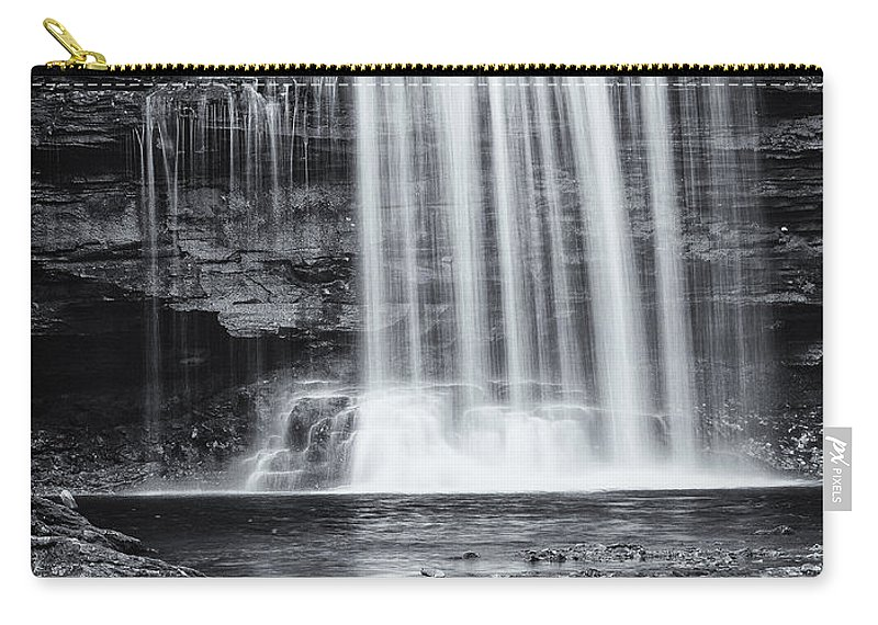 Landscape Carry-all Pouch featuring the photograph Falls by Fran Gallogly