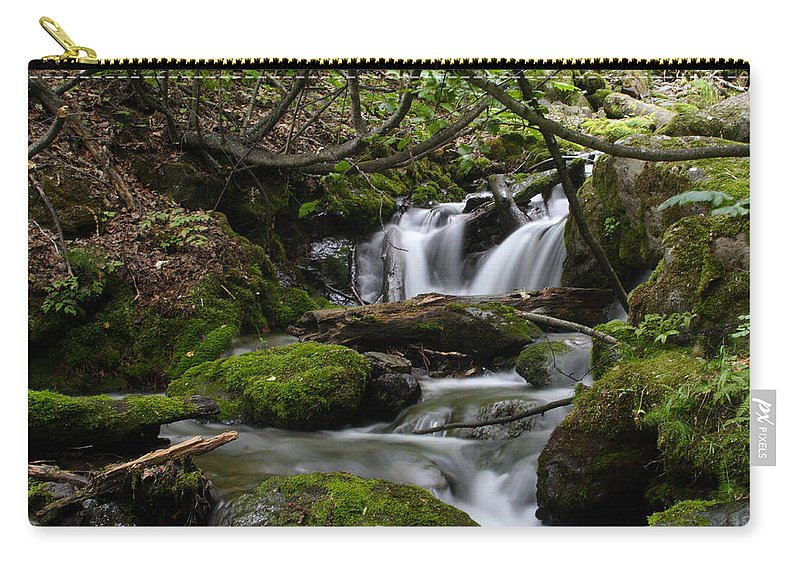 Doug Lloyd Carry-all Pouch featuring the photograph Fast Falling by Doug Lloyd