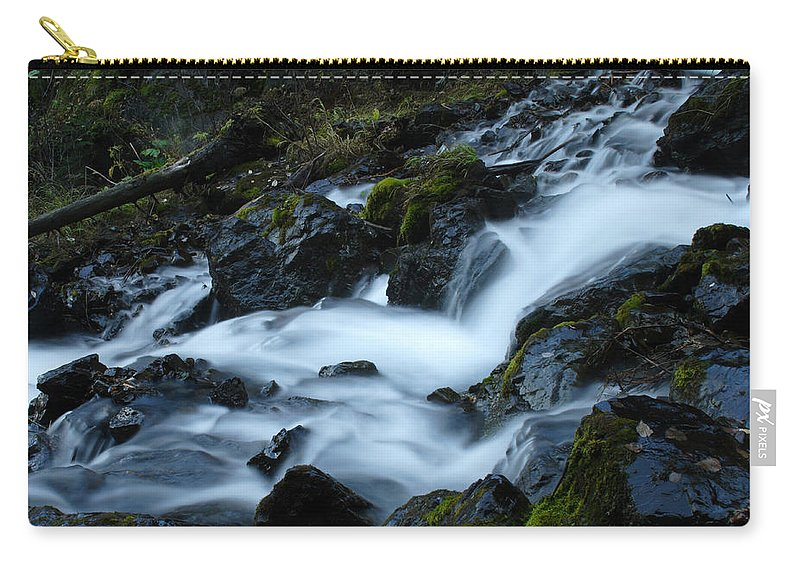 Doug Lloyd Carry-all Pouch featuring the photograph Fast Water by Doug Lloyd