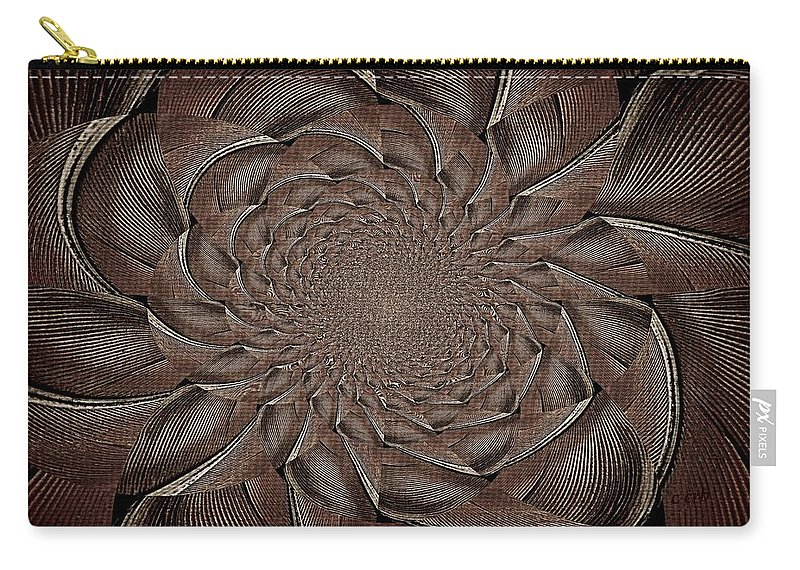 Nature Carry-all Pouch featuring the photograph Feathers In Bloom by Chris Berry