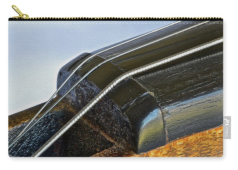 Fiddle Strings Carry-all Pouch featuring the photograph Fiddle Strings II by Bill Owen
